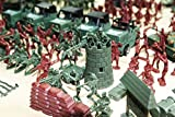 KFTOY ( WWII) Army Men Assorted Action Figures-307 Pieces