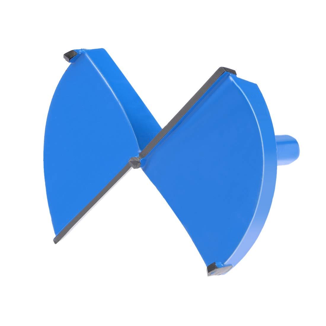 Sourcingmap Charni/ère M/èche /à fa/çonner 10/mm Tige Dia Bleu