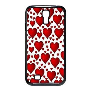 Samsung Galaxy S4 9500 Cell Phone Case Black Polka Dot Design I8273967