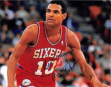 200f2b81b809 Image Unavailable. Image not available for. Color  Maurice Cheeks  autographed ...