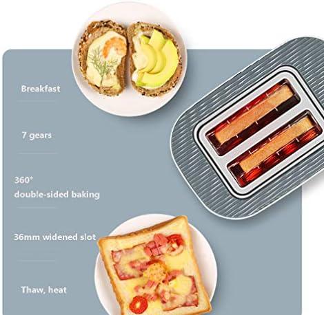 Grille-Pain Pour La Maison Cuisine 2 Tranches Mini Sandwich Petit-Déjeuner Machine Entièrement Automatique Avec Defrost Réchauffer Annuler Fonction Et 7 Réglage Browning