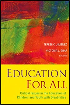Book Education for All: Critical Issues in the Education of Children and Youth with Disabilities
