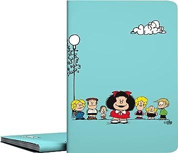 Grafoplás 01332147-Carpeta de fundas A4 soldadas, Diseño Mafalda Amigos, 30 fundas transparentes