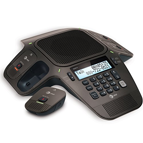 AT&T SB3014 DECT 6.0 Conference Phone with Four Wireless Mics by AT&T