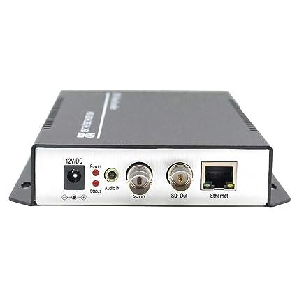 ISEEVY H 265 H 264 SDI Video Encoder 1080P IPTV Encoder for IPTV, Live  Stream, Broadcast Support RTMP RTSP UDP HTTP FLV HLS TS Protocols and  Facebook