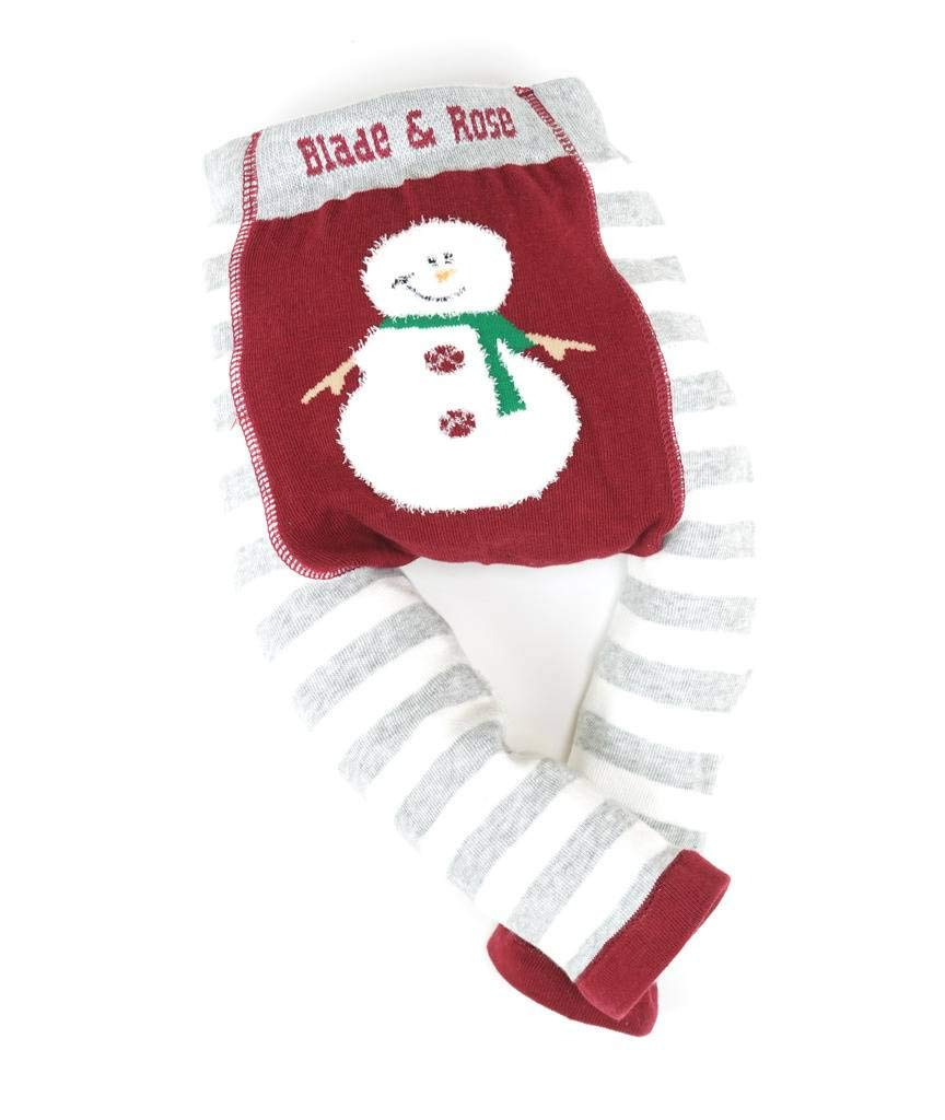 Blade & Rose Fluffy Christmas Snowman Leggings (2-3 Years)