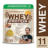 Jay Robb - Grass-Fed Whey Protein Isolate Powder, Outrageously Delicious, Chocolate, 11 Servings (12 oz)