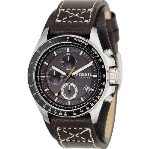 Fossil Decker Chronograph Brown Dial Men #39;s Watch   CH2599