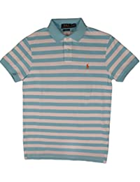 Polo Ralph Lauren Men Custom Fit Striped Polo Shirt