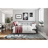 Novogratz Bright Pop Metal Bed, Adjustable Height for Underbed Storage