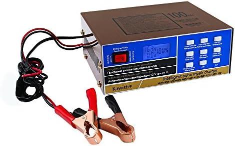 12V Fast Car Battery Charger SUV Van Boat Loud Mower Motorcycle Fix Pulse Repair