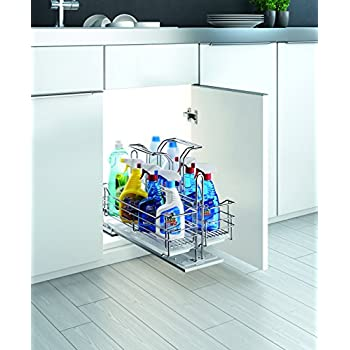 under kitchen sink pull out storage sink organizer pull out removable 9532