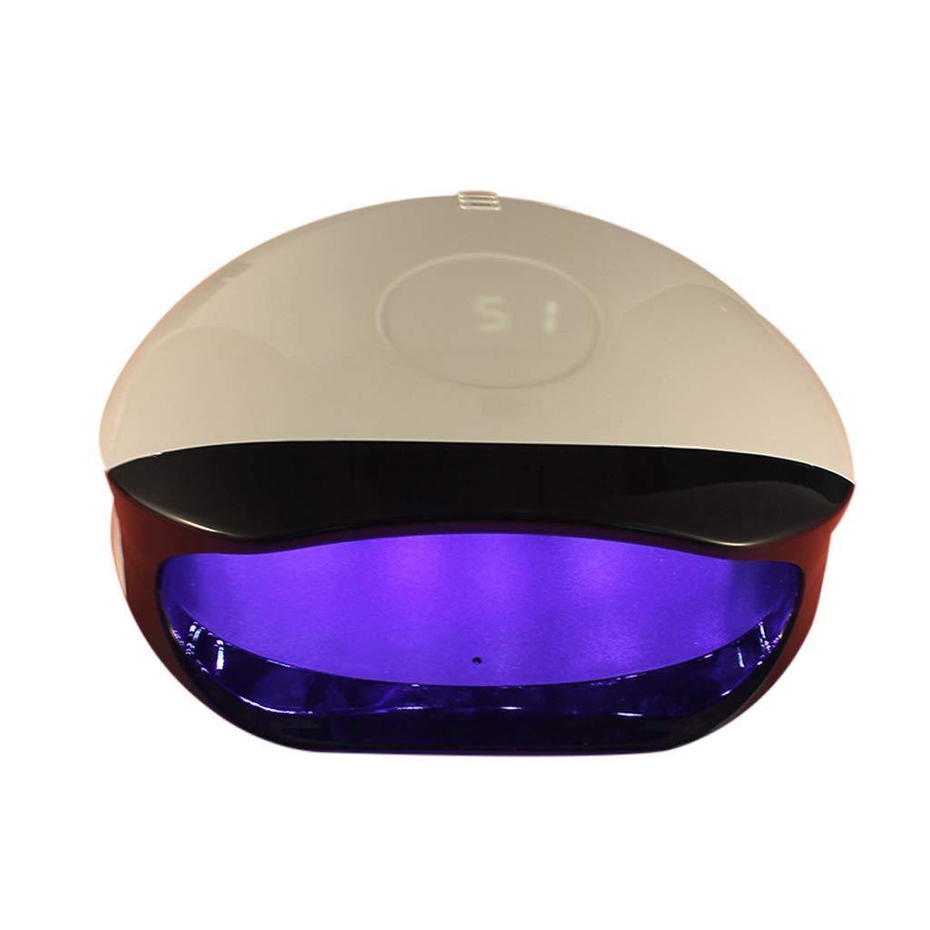 Yalztc-zyq16 ゲルネイルポリッシュ、硬化ランプ用スマートセンサー付き56W UV LEDネイルランプドライヤー. B07Q3PCZ1M