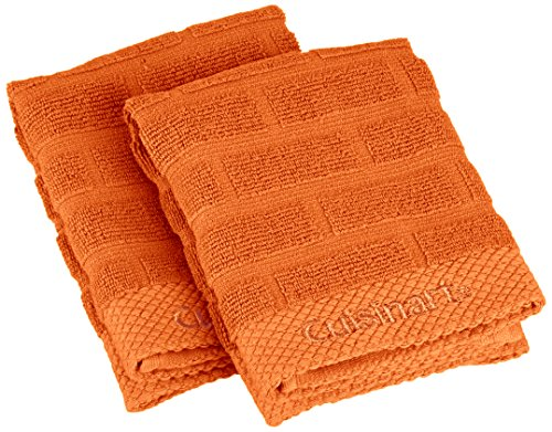 Cuisinart Cotton Sculpted Subway Orange