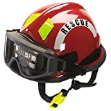 MSA Safety 360SXSR Cairns 360S Structural Thermoplastic Fire Helmet, , Red, Red