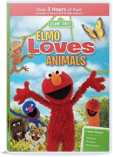 Sesame Street: Elmo Loves Animals (DVD)