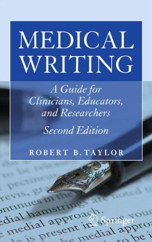 Medical Writing Pdf