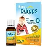 Ddrops 400 IU Vitamin D3 Drops, 2 Count