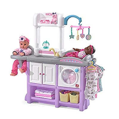 Step2 Love & Care Deluxe Nursery Kids Playset, Purple