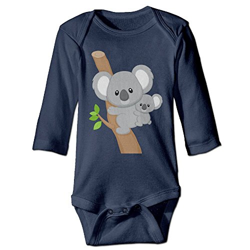 Cartoon Koala Funny Baby Girl Boys Long Sleeve Baby's Crawling Suit (Baby Koala Outfit)