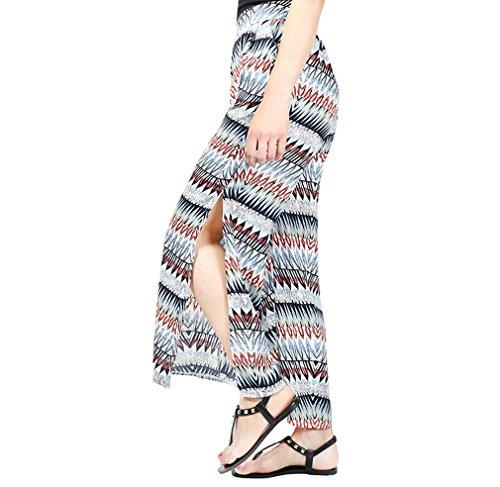 Elastique Acvip Casual Pour Femme Jambe Imprimé Taille Poche Haute De Avec K Plage Large Voyage Pantalon r4rAavwq