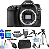 Canon EOS 80D DSLR Camera (Body Only) 1263C004 [International Version] (Mega Bundle)