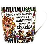 Brownlow Kitchen Brownlow Gifts Gift Mug, Suzy Toronto Successful Woman, Black/White by Brownlow Kitchen