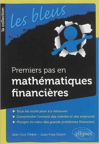 Livre Premiers Pas en Mathématiques Financières epub pdf