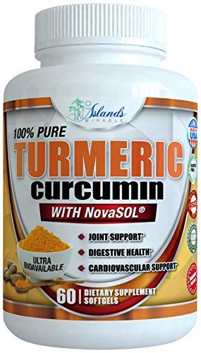 Absorption Standardized Curcuminoids BioPerine Anti inflammatory product image