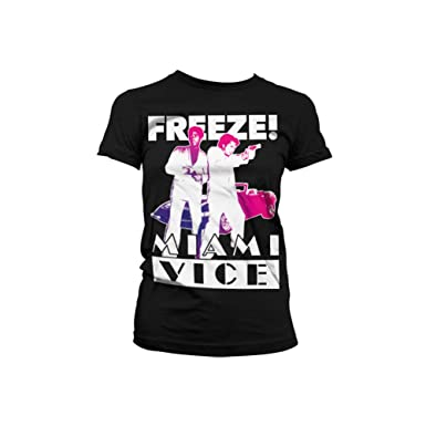 bcd30496fe1 Amazon.com: Miami Vice Officially Licensed Merchandise Freeze Girly ...