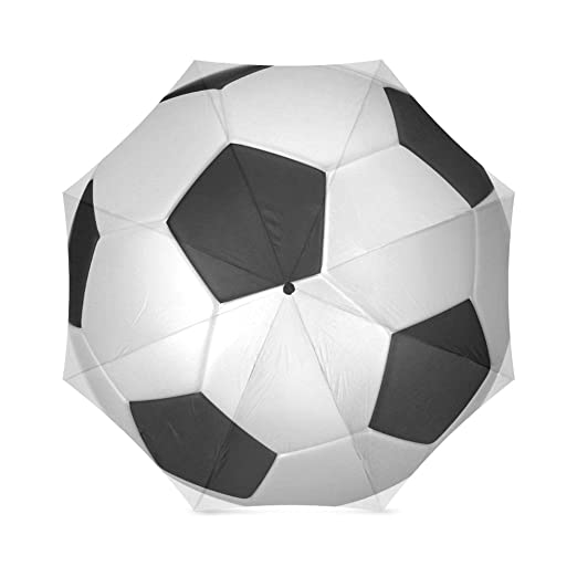 Amazon.com: Mothers/Fathers/Brothers Gifts Stylish Soccer Ball Football 100% Fabric And Aluminium High-quality Umbrella: Clothing