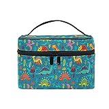 Toiletry Bag Multifunction Cosmetic Bag Portable Toiletry Case Waterproof Travel Organizer Bag for Women Girls Jurassic Period