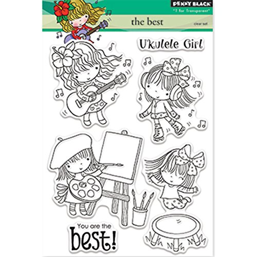 Penny Black Clear Stamps 5x7-The Best