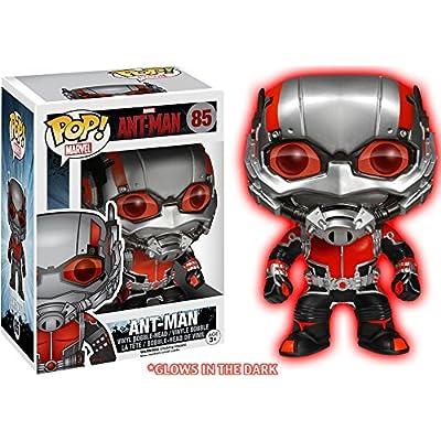 Funko - Figurine Marvel - Ant-Man Glow in the Dark Exclu Pop 10cm - 0849803056186: Toys & Games