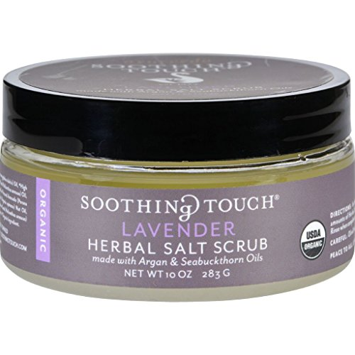 Soothing Touch Scrub - Organic - Salt - Herbal - Lavender - 10 oz by Unknown (Extreme Smoothie Chocolate)