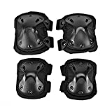 Audlt Knee Pads Elbow Pads Protective Pads For Sports Safety 4 PCS