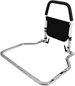 Height Adjustable Bed Rails for Elderly Adults, Assistance for Getting in & Out of Bed at Home,Guardrails for Bed for Adults Fall Protection Available