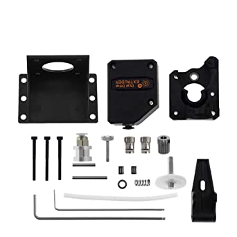 1x High Performance Extruder Cloned Bowden Extruder Dual Drive Black hw