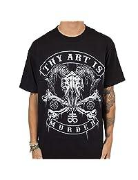 Thy Art Is Murder - Mens Baphomet Skull T-Shirt
