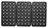 Triton Products 72425 MagClip 3 Panel 84 Magnet Power Mat, 18-3/8-Inch by 10-1/4-Inch, Black