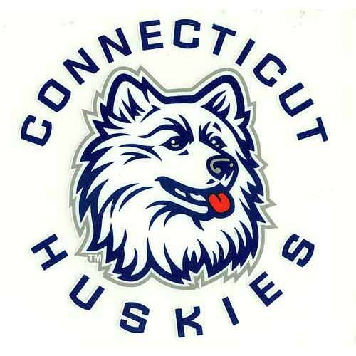 Rico NCAA Connecticut Huskies Small Static Decal