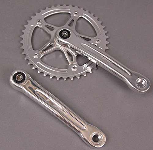 FSA Gimondi Track Bike Fixed Gear Single Speed Crankset 170 44t Silver $149 MSRP