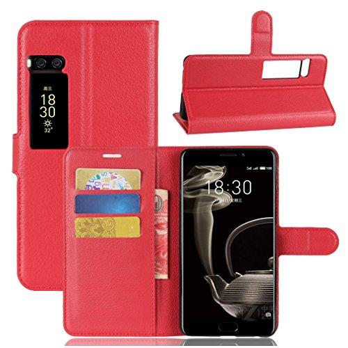 Funda MEIZU Pro7,Manyip Caja del teléfono del cuero,Protector de Pantalla de Slim Case Estilo Billetera con Ranuras para Tarjetas, Soporte Plegable, Cierre Magnético D