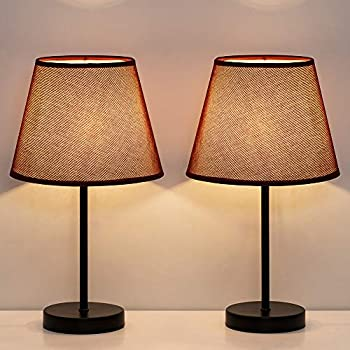 Haitral Bedside Table Lamps Simple Desk Lamps Set Of 2