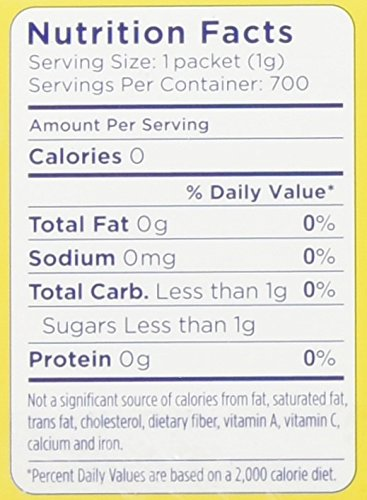 No Calorie Sweetener, 0.35 oz Packets, 700  per Carton by Splenda (Image #1)
