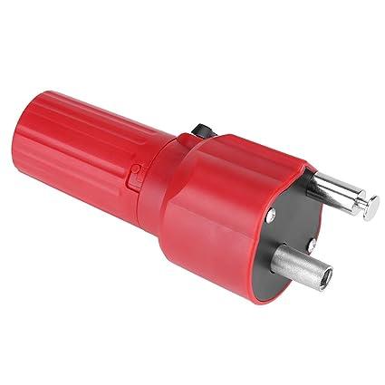 Motor para Barbacoa 1.5 V Construcción Sólida Barbacoa Rotator Motor Asado Barbacoa BBQ De Color Rojo