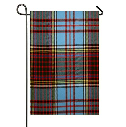 AoshangGardeflag Anderson Modern Tartan 2 Yard Home Outdoor Decor Waterproof,12