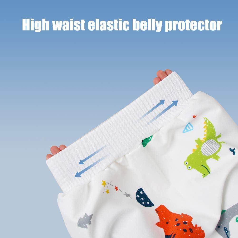 bauchsch/ützender Windelrock mit hoher Taille waschbarer Toilettenwindel-Trainingsrock aus Baumwolle LAOZI Baby-Windelrock auslaufsicherer T/öpfchen-Trainingsrock f/ür Kleinkinder