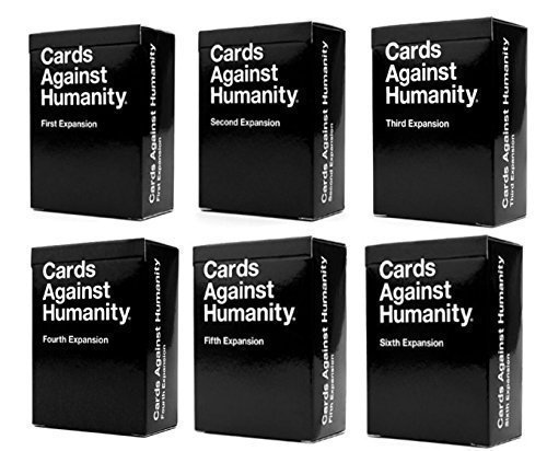 Cards Game Against Humanity: 1st 2nd 3rd 4th 5th 6th Expansions!!!