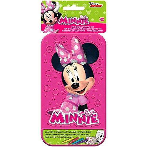 Disney Minnie Mouse Sticker Activity Kit | Party Favor | 1 Kit ()